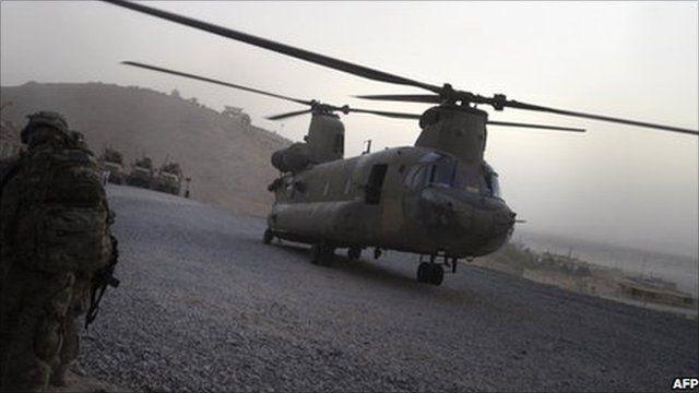 US military Chinook