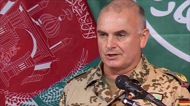 Brigadier General Carsten Jacobsen, senior NATO spokesman