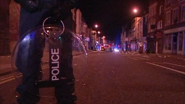 Police officer in Bristol