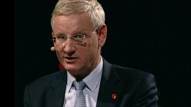 Carl Bildt at the World Debate in Greenland