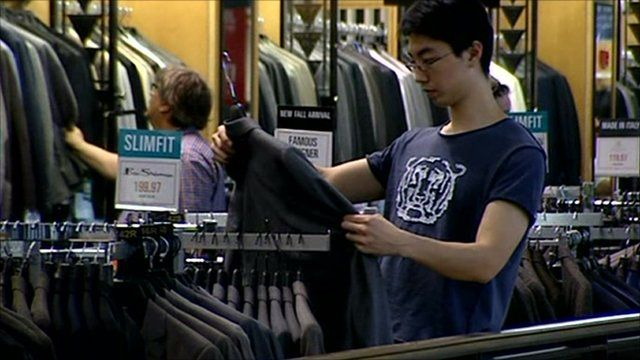 New York shoppers continue to spend
