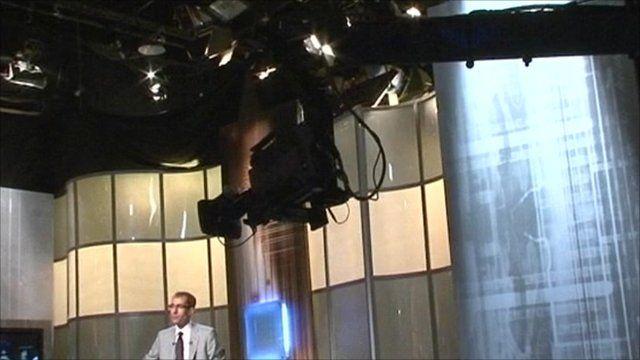 Egyptian tv studio