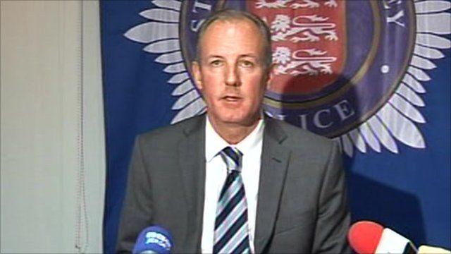 Detective Superintendent Stewart Gull