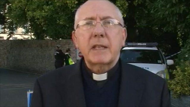 Monsignor Nicholas France, of the Roman Catholic church in Jersey
