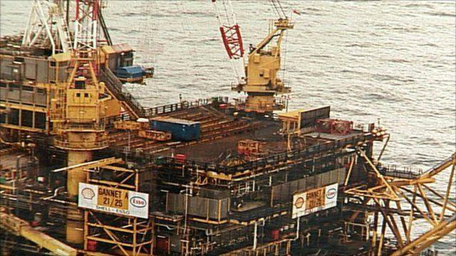 Gannet Alpha Oil Platform