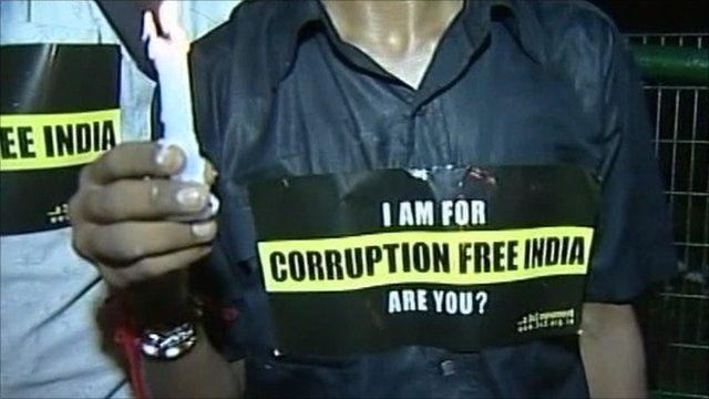 Anti-corruption protest