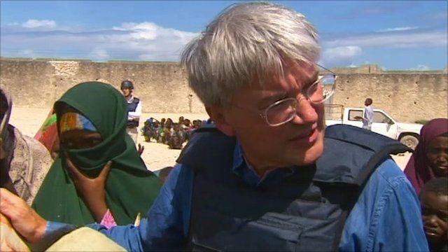UK International Development Secretary Andrew Mitchell