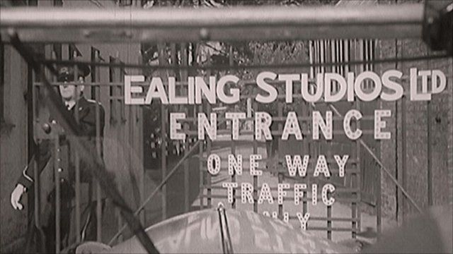 Entrance to the Ealing film studios