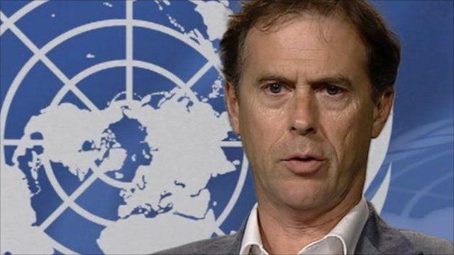 UN human rights spokesman Rupert Colville