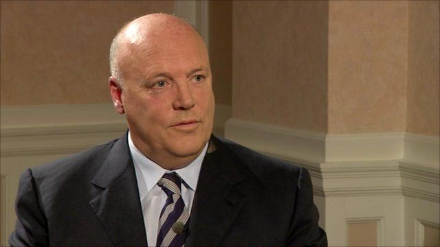 Jim McColl, chair of Clyde Blowers