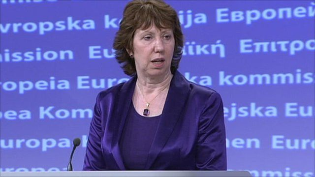EU's Foreign Policy Chief, Baroness Catherine Ashton