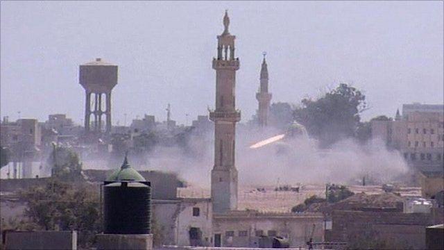 Battle in Tripoli