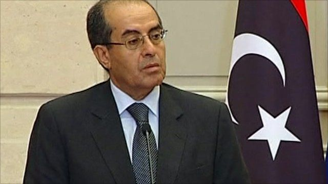 Mahmoud Jibril, Libya's rebel National Transition Council