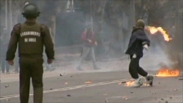 Violence in Chile