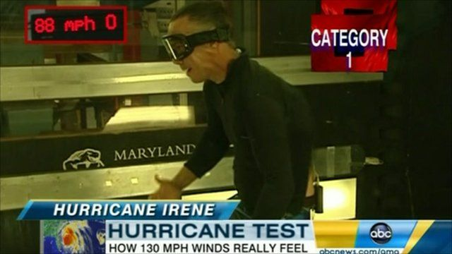 ABC's Jim Sciutto takes on 130 mph gales in a specially designed wind tunnel
