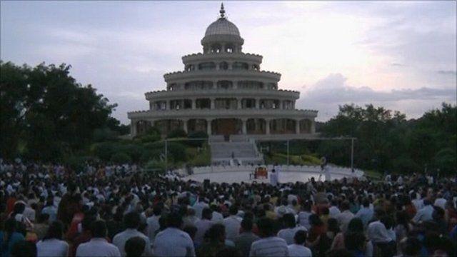 Guru's temple