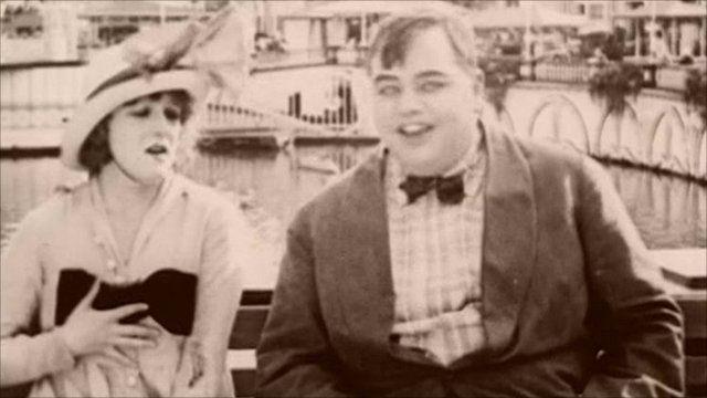 "Roscoe ""Fatty"" Arbuckle in Coney Island"