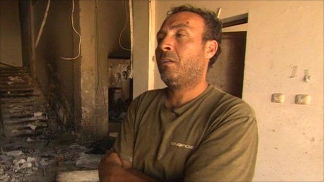 Gaddafi supporter