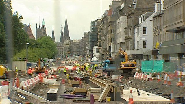 Edinburgh trams project