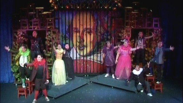"Filipino theatre group perform ""William"""