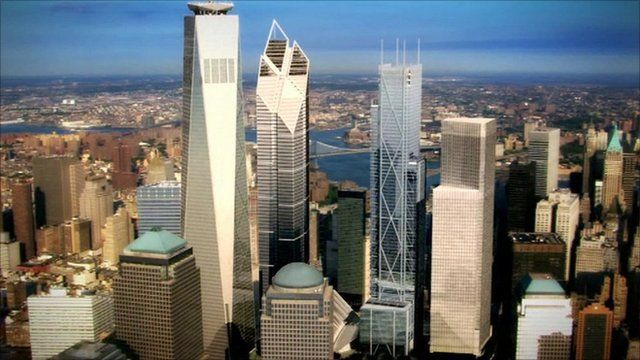 Silverstein Properties animation shows how the World Trade Center area will look