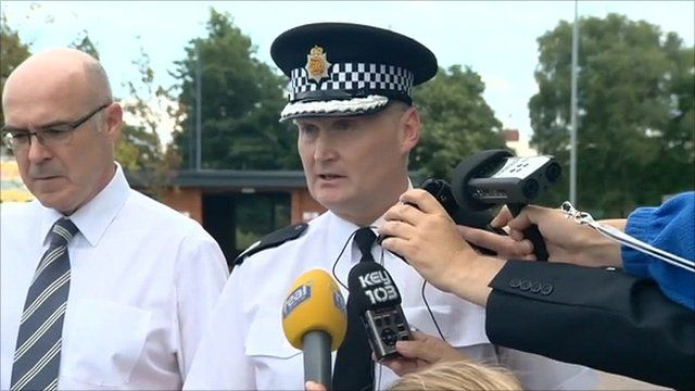 Greater Manchester's Assistant Chief Constable Terry Sweeney