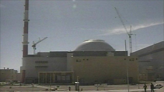 Nuclear plant in Iran