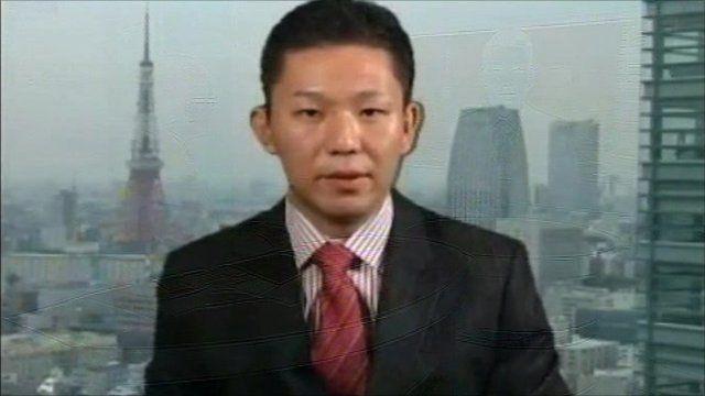 Takuji Okubo, chief economist of Societe General in Tokyo.