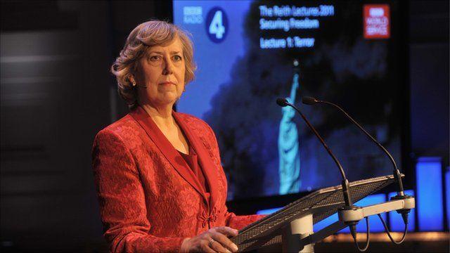 Eliza Manningham-Buller, former director-general of MI5 and Reith Lecturer 2011