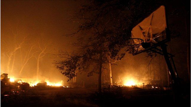 Wildfires in Texas