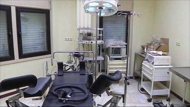 Operating room under University of Tripoli