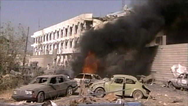 UN bomb blast, Baghdad