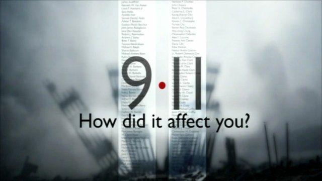Marino Ginesi, Algeria, tell the BBC how the 9/11 attacks changed his life