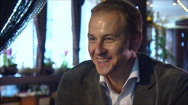 Russian businessman Grigory Guselnikov