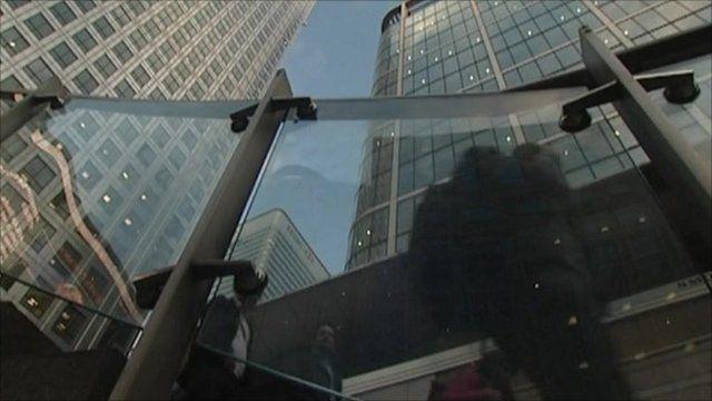 London's banking district
