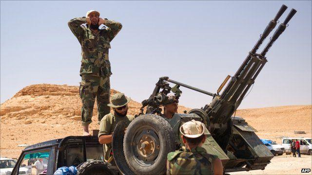 Rebels near bani Walid