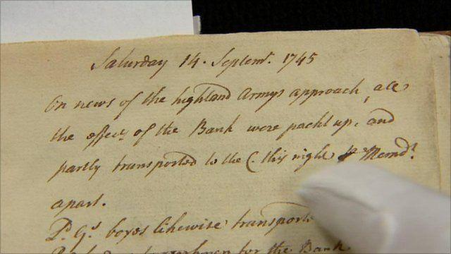 John 'the Bank' Campbell's diary