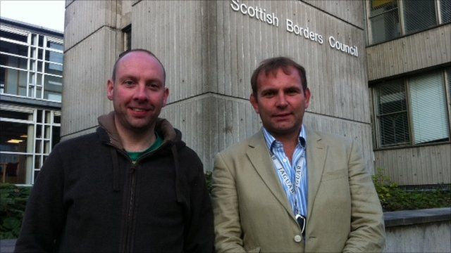 Duncan Nesbit and Gordon Brown