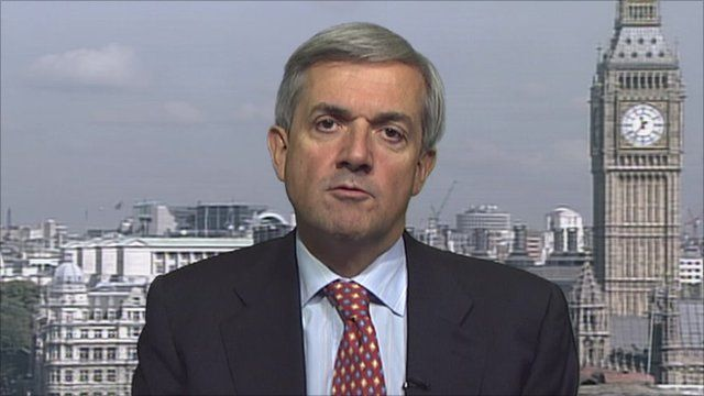The Energy and Climate Change Secretary Chris Huhne