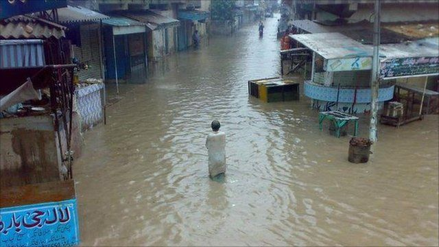 Kunri town District Umerkot Sindh, Pakistan. Photo: Musawar Ahmed