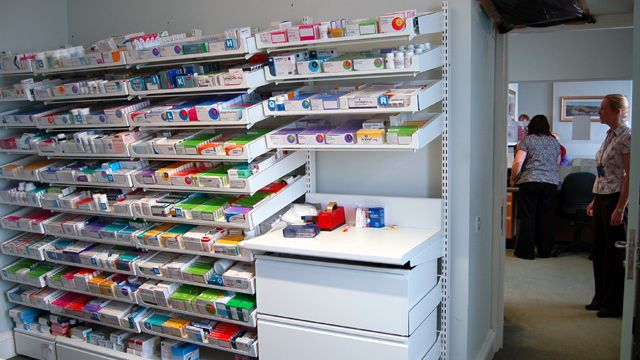 Dispensary in Millport Medical Practice