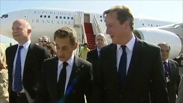 Sarkozy and Cameron