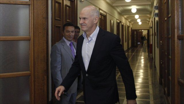 Greek PM George Papandreou