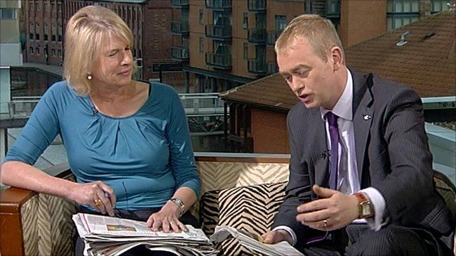 Ann Treneman and Tim Faron review the papers on The Andrew Marr Show