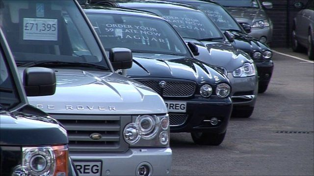 Jaguars and Range Rovers