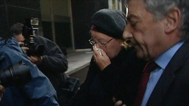 The former MP Margaret Moran arriving at court