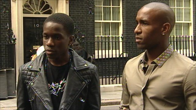 Tinchy Stryder and Jermain Defoe