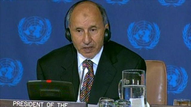 Head of Libya's national transitional council, Mustafa Abdul Jalil