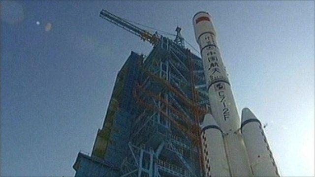 China rocket launching pad
