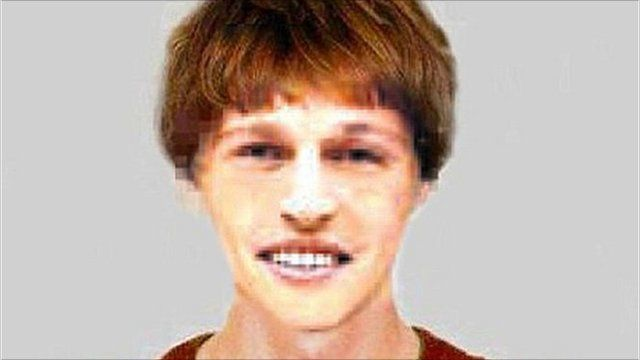 """Computer generated image of 17 year old English speaking boy called """"Ray"""" who claims to have lived in a forest in Germany for the past 5 years but has no memory of events"""